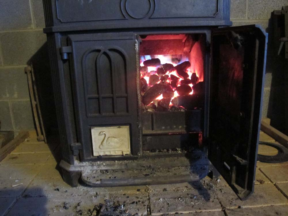 My cast iron heat stove is a Coalbrookdale Severn unit, a 500-pound British  product that is no longer being manufactured. I mentioned this in an  earlier ... - The Barn On White Run Supercharging A Wood/Coal Stove