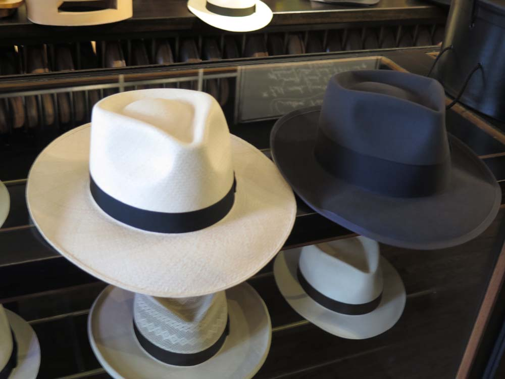 By the time he arrived a few minutes later I had narrowed down the  selection to two hats ea341d6609d