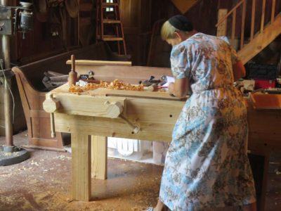 The Barn On White Run Hand Tool Woodworking Workshop Days 4 5
